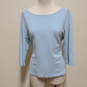 3FOR$20 MP Talbots blue top
